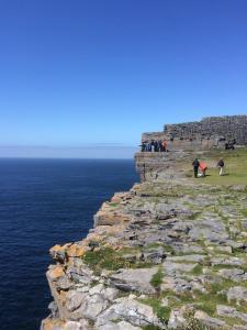 Cliffside at Dún Aonghasa.